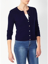 Collection WEEKEND by John Lewis Crew Neck Cashmere Cardigan