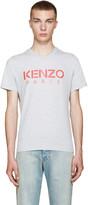 Kenzo Grey Logo T-Shirt
