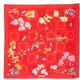 Salvatore Ferragamo Women's Fo Ganchille Silk Scarf