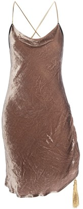 Lahive Jordan Silk Slip Dress