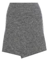 Etoile Isabel Marant Isabel Marant, Étoile Estelle Wool-blend Wrap Skirt