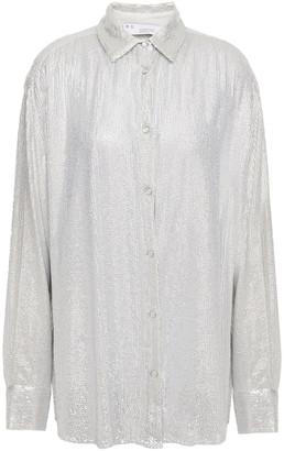 IRO Zuko Sequined Gauze Shirt
