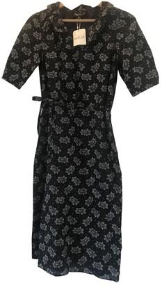agnès b. Black Cotton Dress for Women