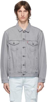 Levi's Levis Grey Denim Vintage Fit Trucker Jacket