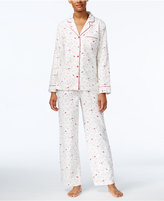 Charter Club Holiday Flannel Pajama Set, Only at Macy's