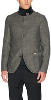 Luis Trenker Men's Sandrone Fischgrat Traditional Jacket