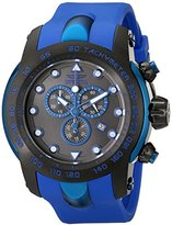 Invicta Men's 18028SYB Pro Diver Black Stainless Steel Watch with Blue Silicone Band