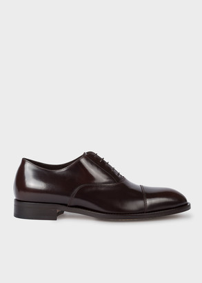 Paul Smith Men's Dark Brown Calf Leather 'Kenning' Oxford Shoes