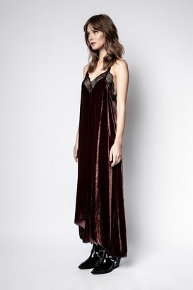 Zadig & Voltaire Risty Velvet Dress