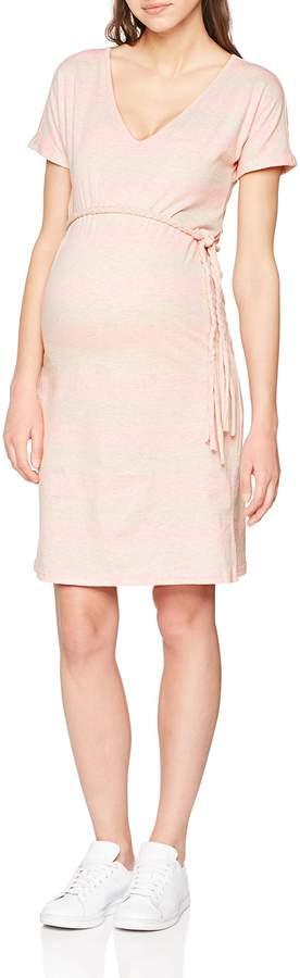 Mama Licious Mamalicious Women's Mlmiram S/s Jersey Abk. Dress B