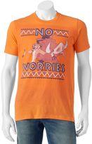 Disney Men's Disney's Timon & Pumbaa ''No Worries'' Tee