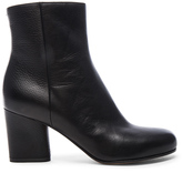 Maison Margiela Embossed Leather Booties