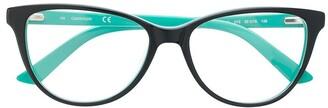 Calvin Klein Colour Block Glasses