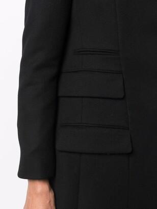 Salvatore Ferragamo Double Pocket Long Coat