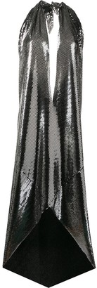 MM6 MAISON MARGIELA Metallic Asymmetric Dress