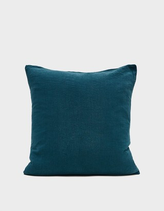 Living Textiles Hawkins New York 18 x 18 in. Simple Linen Pillow in Peacock