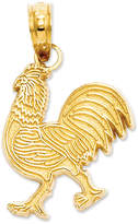 Macy's 14k Gold Charm, Rooster Charm