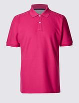 M&S Collection Big & Tall Pure Cotton Polo Shirt