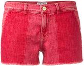 Frame cutoff shorts - women - Cotton/Polyester/Spandex/Elastane - 25