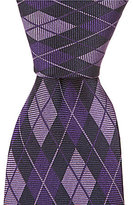 Daniel Cremieux Tonal Argyle Narrow Silk Tie