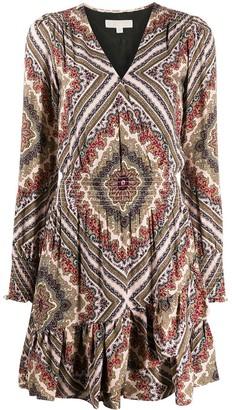 MICHAEL Michael Kors Geometric-Print Mini Skirt