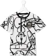 Dolce & Gabbana violin print T-shirt