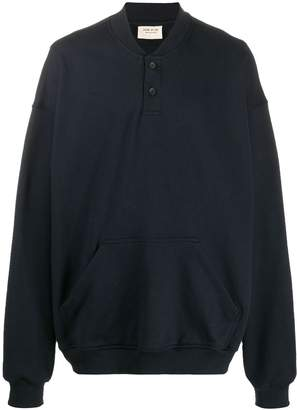 Fear Of God front buttoned sweatshirt