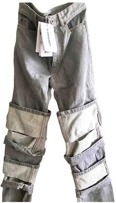 Y/Project Grey Denim - Jeans Trousers for Women