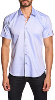 Jared Lang Short Sleeve Trim Fit Shirt