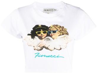 Fiorucci Cropped Logo T-Shirt