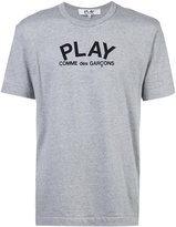 Comme des Garcons logo print T-shirt - men - Cotton - S