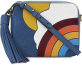 Anya Hindmarch Silver Cloud leather cross-body bag