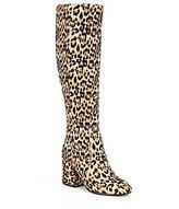 Sam Edelman Thora Faux Fur Brahama Cow Hair Boots