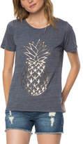 O'Neill Women's Gilded Pineapple Short Sleeve Tee - Periscope Short Sleeve Shirts