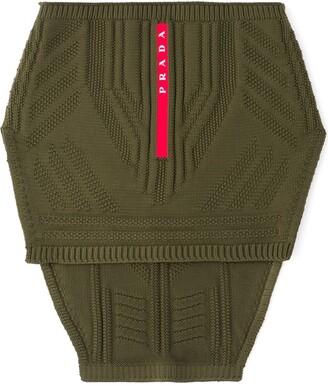 Prada Technical Knit Neck Warmer