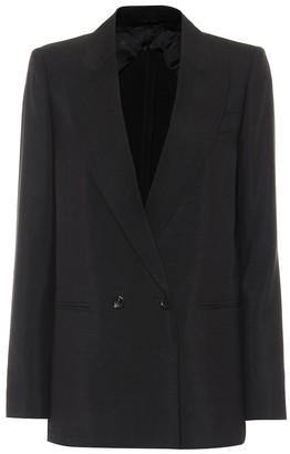 Max Mara Edoardo mohair and silk blazer