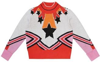 Stella Mccartney Kids Printed turtleneck sweater