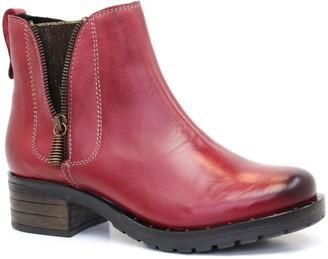 Dromedaris Leather Ankle Boots - Kelyn