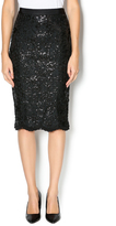 Endless Rose Sequined Pencil Skirt