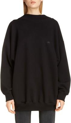 Balenciaga Wide Neck Sweatshirt