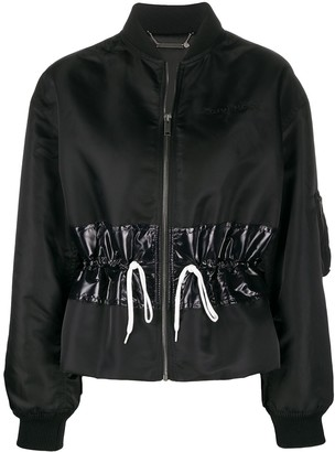Givenchy Drawstring Bomber Jacket
