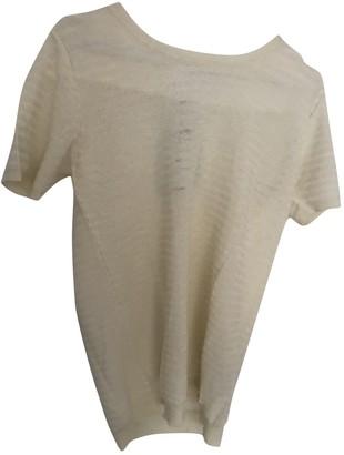 Woolrich Ecru Cotton Top for Women