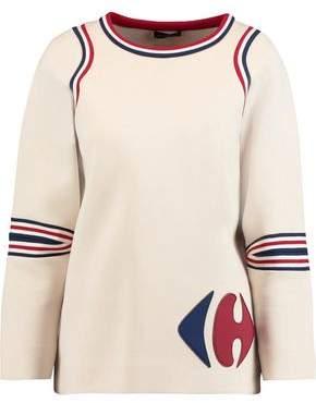 Anya Hindmarch Carrefour Paneled Cotton Neoprene Sweater