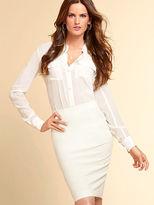 Victoria's Secret Stretch Cotton Pencil Skirt