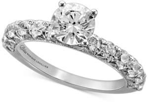 Monique Lhuillier Bliss Diamond Engagement Ring (2 ct. t.w.) in 14k White Gold