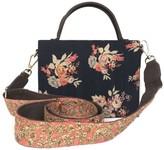 Simitri Winter Rose Briefcase Bag
