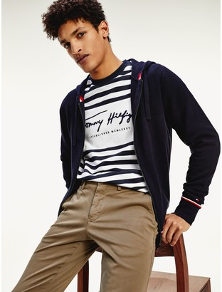 Tommy Hilfiger Organic Cotton Hooded Sweater