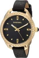 Diesel Women's DZ5547 Shawty Leather Watch