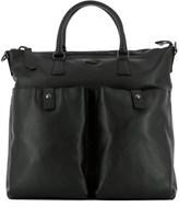 Zanellato Men's Black Leather Briefcase.