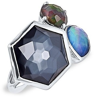 Ippolita Rock Candy Sterling Silver & 3-Stone Ring
